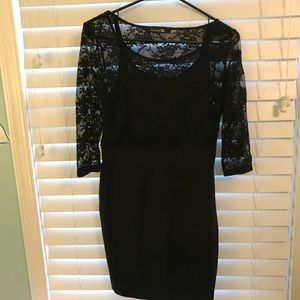 BLACK Forever 21 Lace Dress